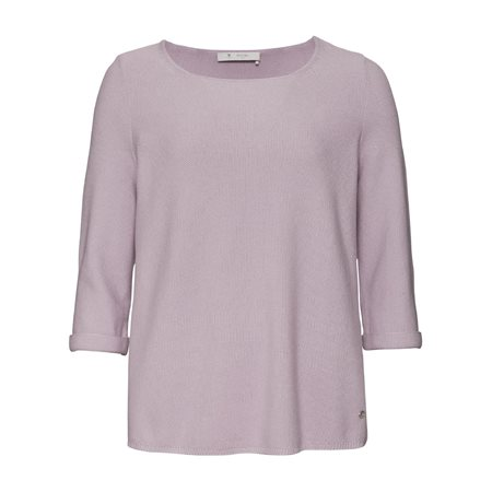 Monari Casual Knitted Jumper Lilac  - Click to view a larger image