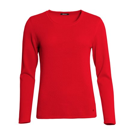 Olsen Knitted Jumper Red  - Click to view a larger image