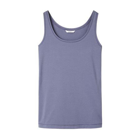 Sandwich Vest Top Blue  - Click to view a larger image