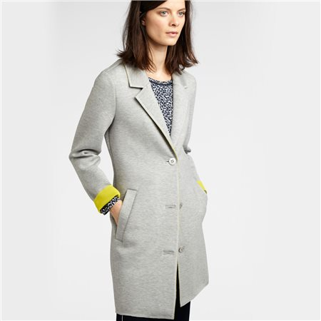 Sandwich Smart Button Jacket Grey  - Click to view a larger image