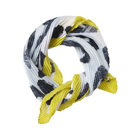 Sandwich Woven Scarf Accessory Green  - Click to view a larger image