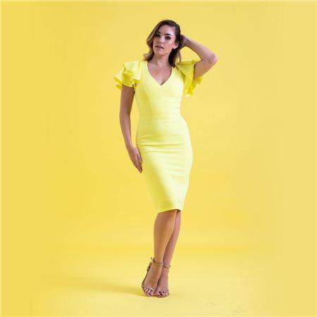 Mellaris Bella Dress Yellow  - Click to view a larger image