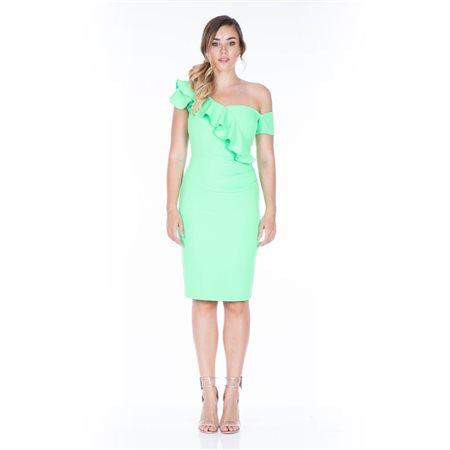 Mellaris Calypso Dress Green  - Click to view a larger image