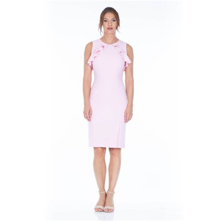 Mellaris Lena Dress Pink  - Click to view a larger image