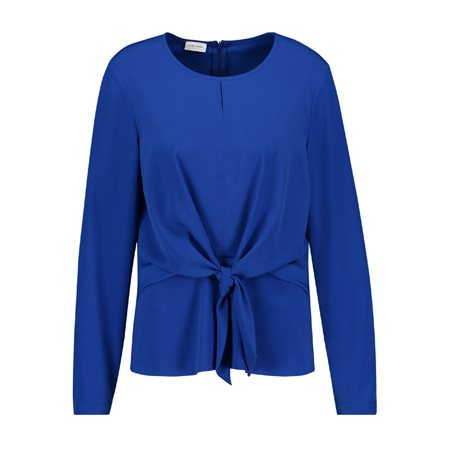 Gerry Weber Bow Detailed Blouse Blue  - Click to view a larger image