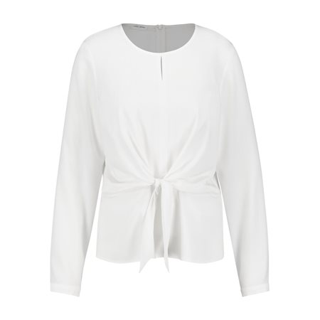 Gerry Weber Bow Detailed Blouse White  - Click to view a larger image