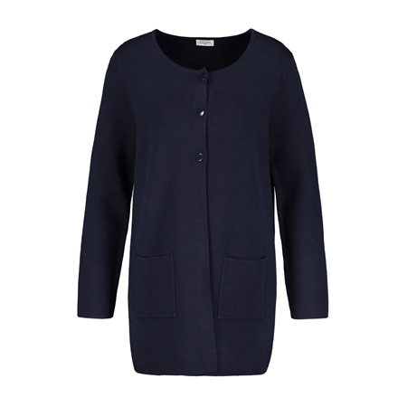 Gerry Weber Fine Knit Cardigan Navy  - Click to view a larger image
