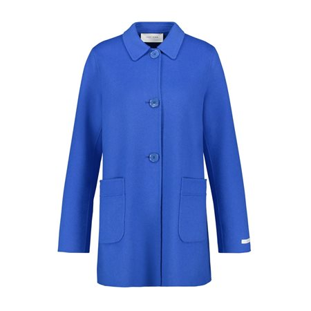 Gerry Weber Flared Coat Blue  - Click to view a larger image