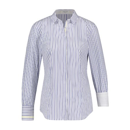 Gerry Weber Striped Shirt White  - Click to view a larger image