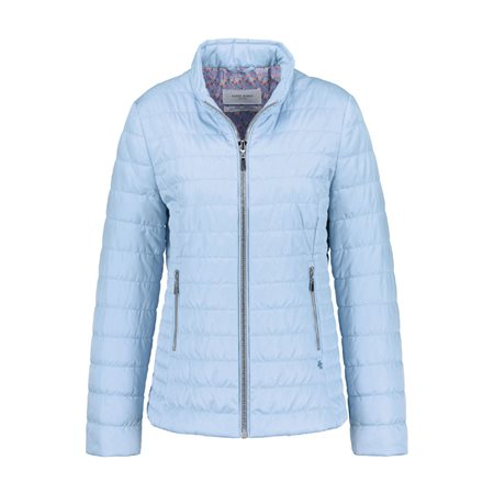 Gerry Weber Lightly Quilted Jacket Blue  - Click to view a larger image