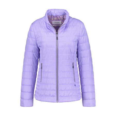 Gerry Weber Lightly Quilted Jacket Purple  - Click to view a larger image