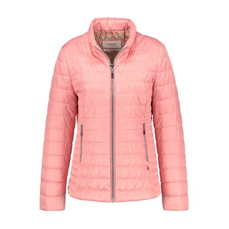 Gerry Weber Lightly Quilted Jacket Peach  - Click to view a larger image