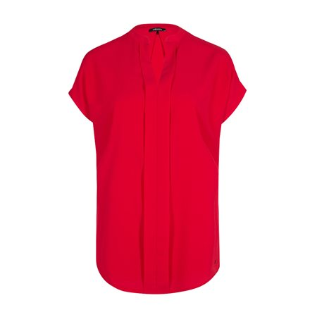 Olsen Sleeveless Blouse Red  - Click to view a larger image