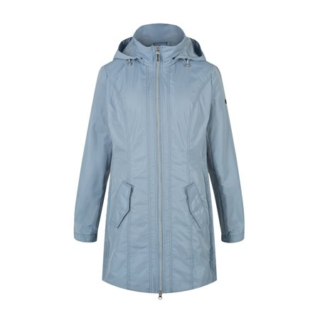 Olsen Water Repellent Coat Blue  - Click to view a larger image