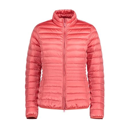 Betty Barclay Lightly Padded Coat Coral  - Click to view a larger image