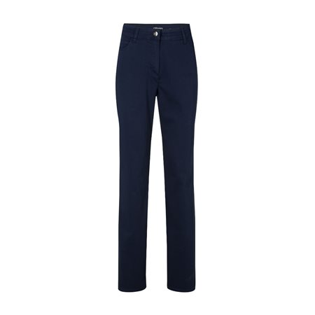 Olsen Lisa Straight Fit Trouser Blue  - Click to view a larger image