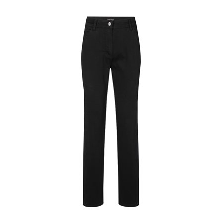 Olsen Mona Slim Leg Trouser Black  - Click to view a larger image