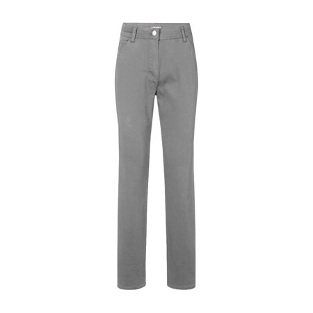 Olsen Mona Slim Leg Trouser Grey  - Click to view a larger image
