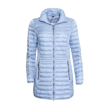 Lebek Lightweigtht Down Coat Light Blue  - Click to view a larger image