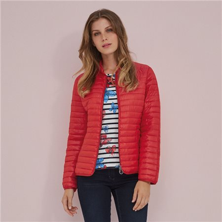 Lebek Reversible Down Coat Red  - Click to view a larger image