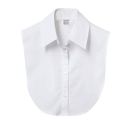 Erfo Plain Shirt Collar Insert White  - Click to view a larger image
