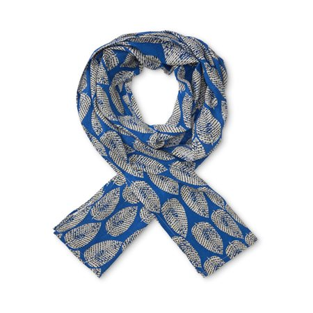 Masai Gabrielis Along Scarf Dark Blue  - Click to view a larger image