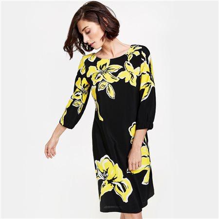 Gerry Weber Floral Detailed Dress Black Jonzara