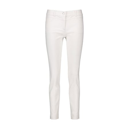 Taifun Super Skinny Stretch Trousers White  - Click to view a larger image