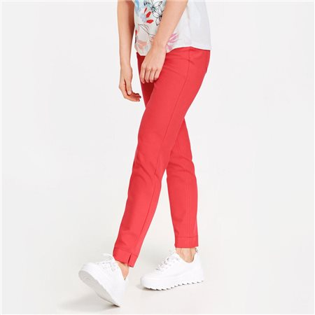 Taifun Super Skinny Stretch Trousers Red  - Click to view a larger image