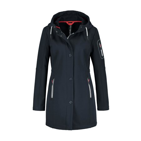 Taifun Stylish Softshell Jacket Navy  - Click to view a larger image