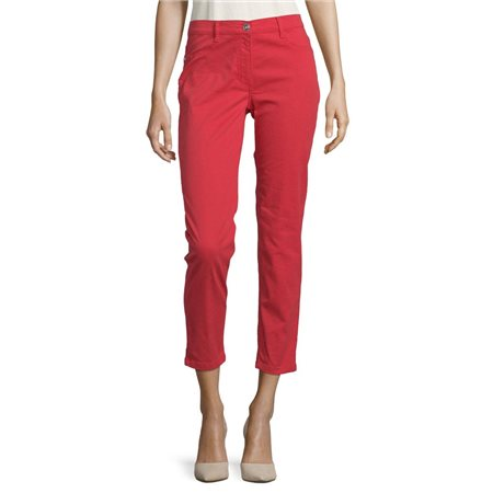 Betty Barclay Slim Fit Jeans Red  - Click to view a larger image