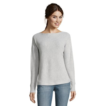 Betty & Co Knit Jumper Silver  - Click to view a larger image