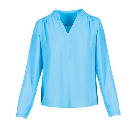 Anonyme Magda Blouse Light Blue  - Click to view a larger image