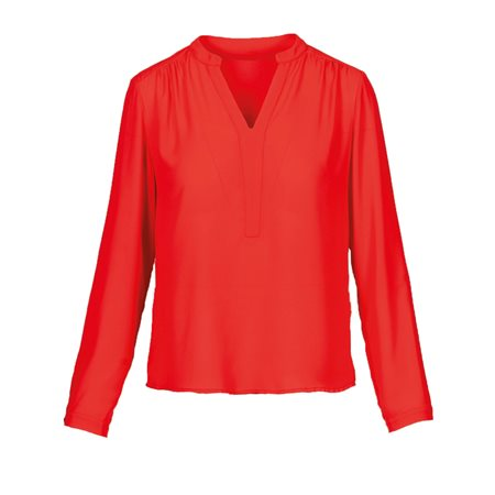 Anonyme Magda Blouse Red  - Click to view a larger image