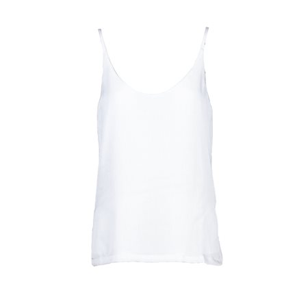 Anonyme Cloe Vest Top White  - Click to view a larger image