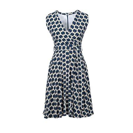 Anonyme Patrizia Dress Blue  - Click to view a larger image