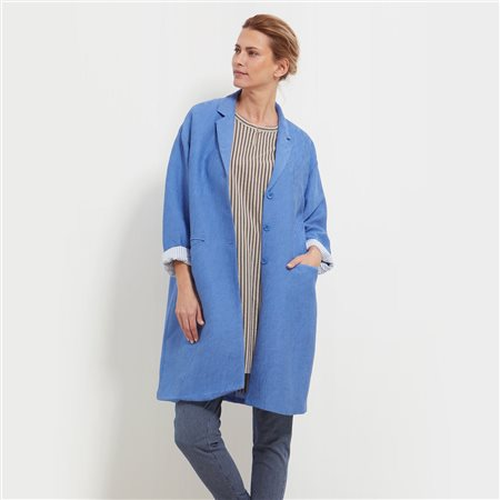 Masai Tura Coat Blue  - Click to view a larger image