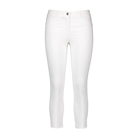 Gerry Weber 3/4 Length Trousers White  - Click to view a larger image