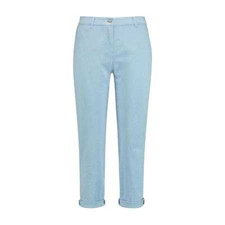 Gerry Weber Turn Up Jeans Light Blue  - Click to view a larger image