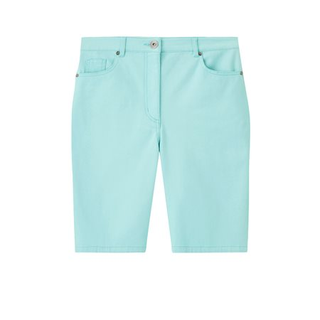 Emreco Katie Fit Shorts Light Blue  - Click to view a larger image