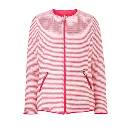 Emreco Lightly Quilted Jacket Pink  - Click to view a larger image