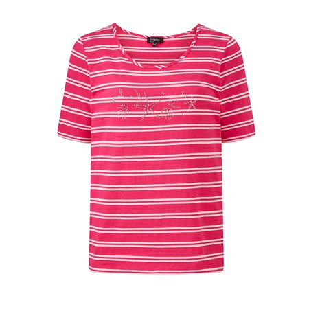 Emreco Striped Top Pink  - Click to view a larger image