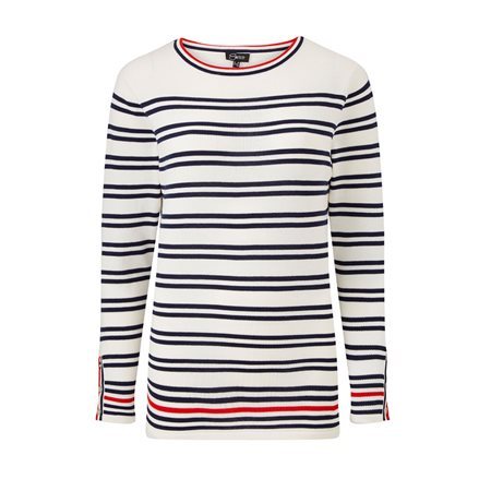 Emreco Striped Jumper Navy  - Click to view a larger image