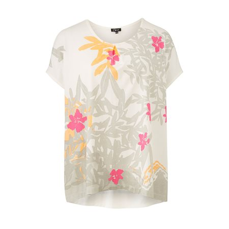 Emreco Floral Design Top Pink  - Click to view a larger image