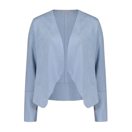 Betty & Co Casual Jacket Blue  - Click to view a larger image