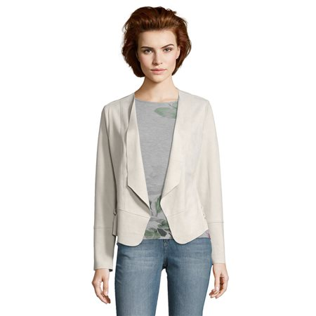 Betty & Co Casual Jacket Grey  - Click to view a larger image