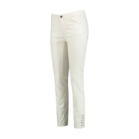Taifun 7/8 Super Skinny Jeans White  - Click to view a larger image