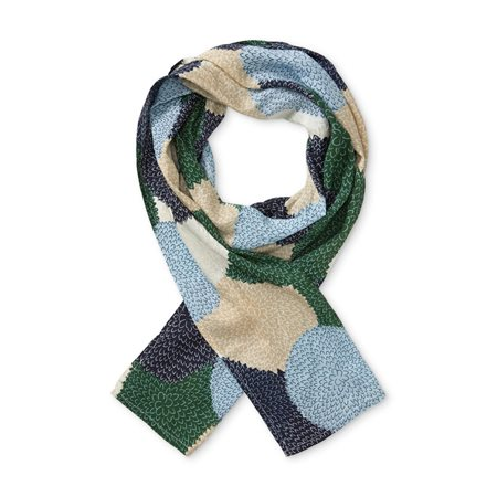 Masai Printed Scarf Green  - Click to view a larger image