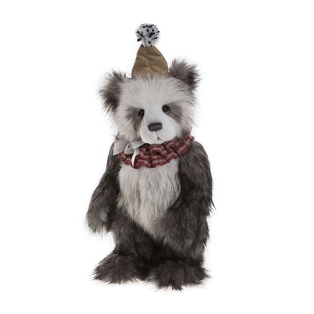 Charlie Bears Giggleswick Plush Collection Grey  - Click to view a larger image