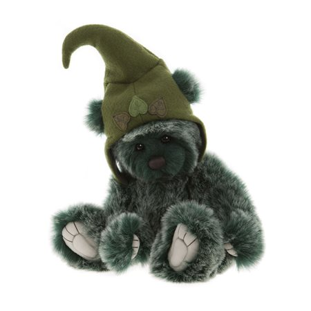 Charlie Bears Toadstool Plush Collection Green  - Click to view a larger image